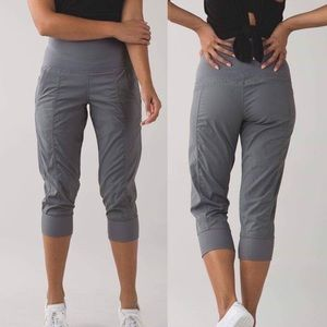 Lululemon Yoga In Flux Crop Pants